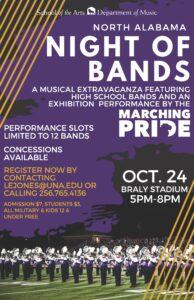 North Alabama Night of Bands @ Braly Stadium